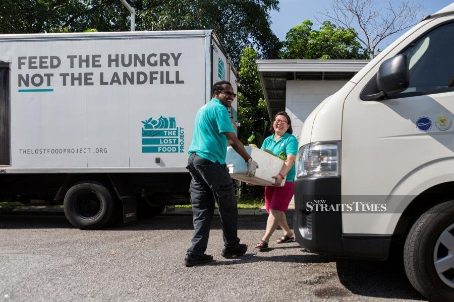 The Lost Food Project operates with three trucks and two warehouses.