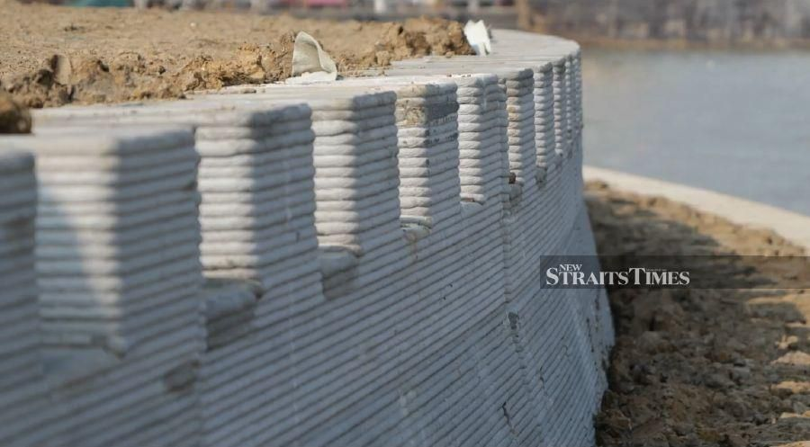 The Suzhou Wall is officially the world's largest 3D-printed structure in the world.