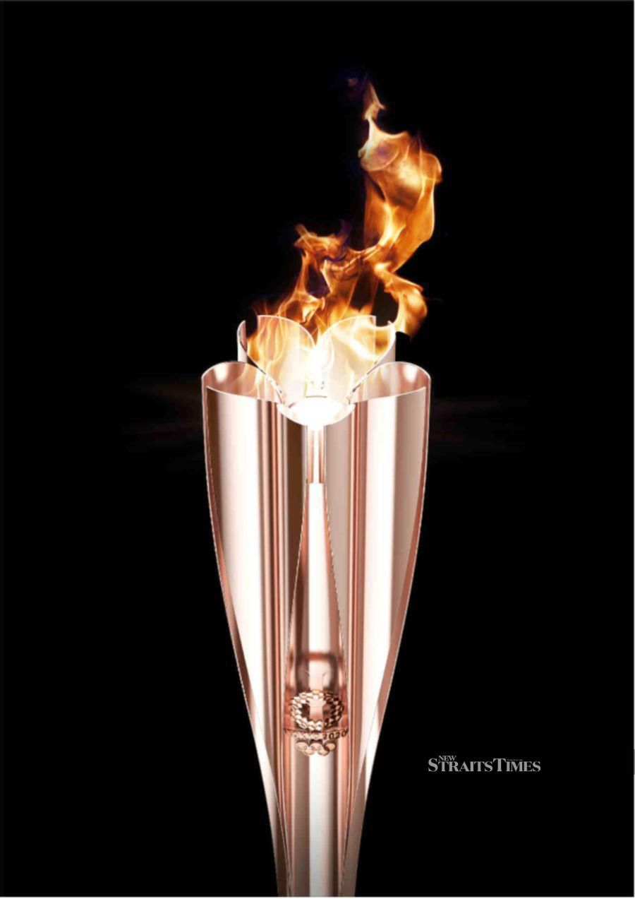 Olympic torch.