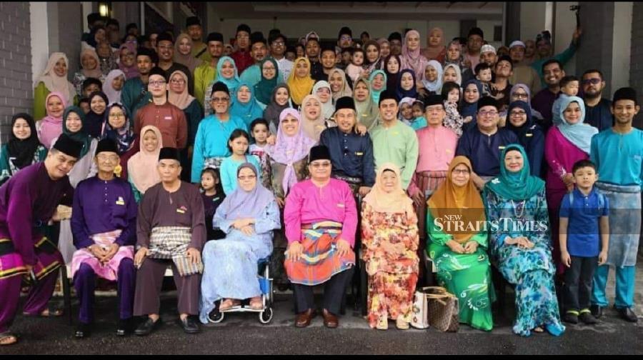 The Baidali clan in Johor.