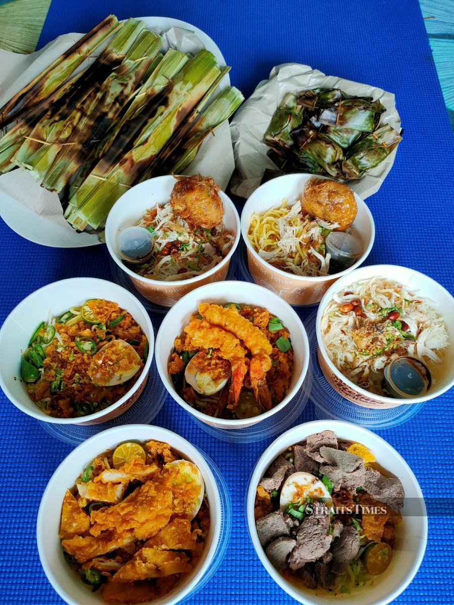 The dishes from Mee Rebus Haji Wahid can also be enjoyed at home.