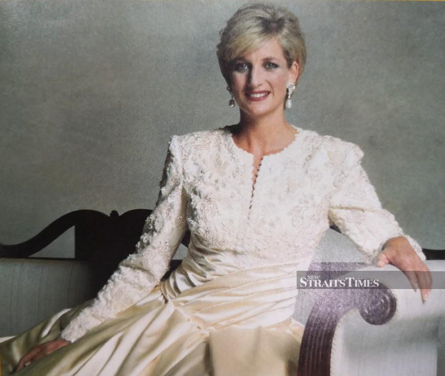 Princess Diana's glamorous dressing style had an impact on baju kurung styles in the 1980s.