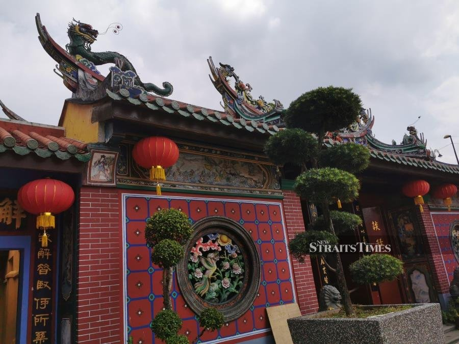 The Kwan Yin temple is one of Selangor's historical landmarks.