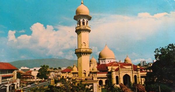 Unusual beginnings of Penang's oldest mosque
