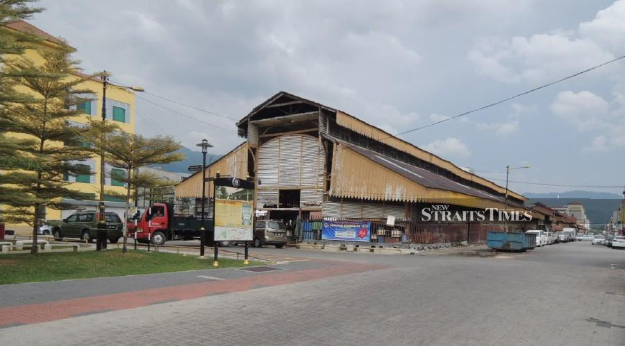 The historic Taiping central market is due for a RM9 million facelift soon.