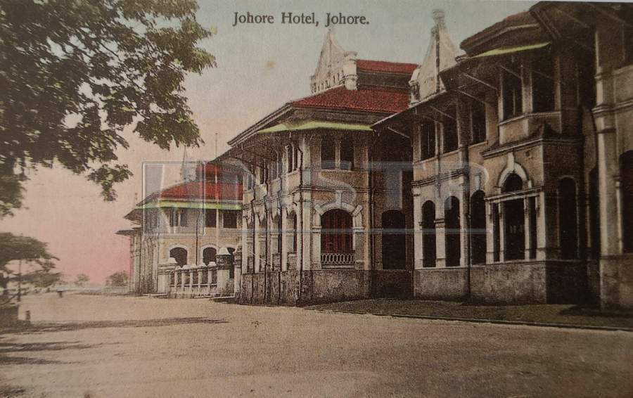 The Johore Hotel was very popular among visitors from Singapore back in the early 20th century.