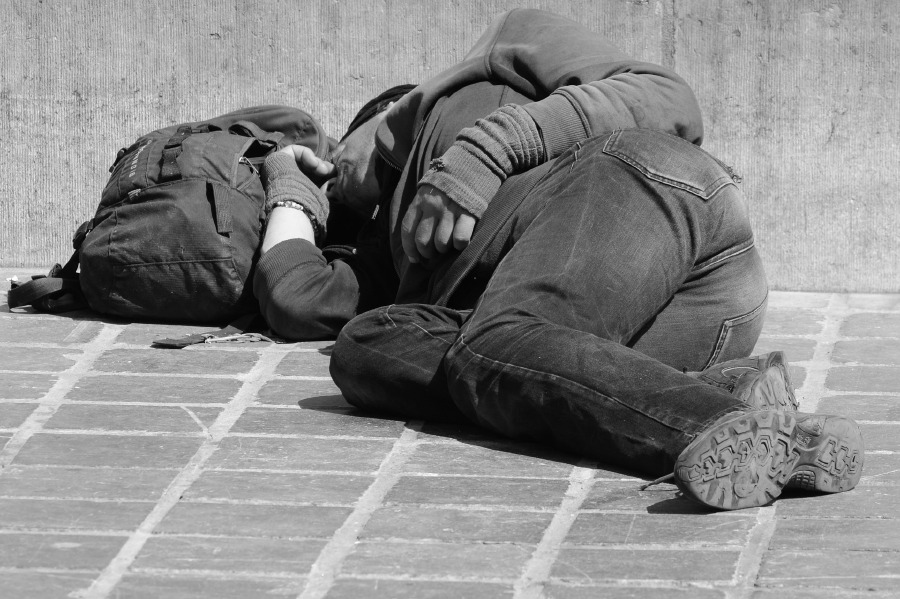 We live in a world where there is so much wealth, by right there shouldn't be a homeless person. -- NSTP Archive / Pixabay photo