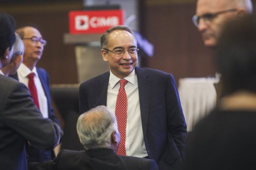 Image result for CIMB Banking Group Chairman Nazir Razak