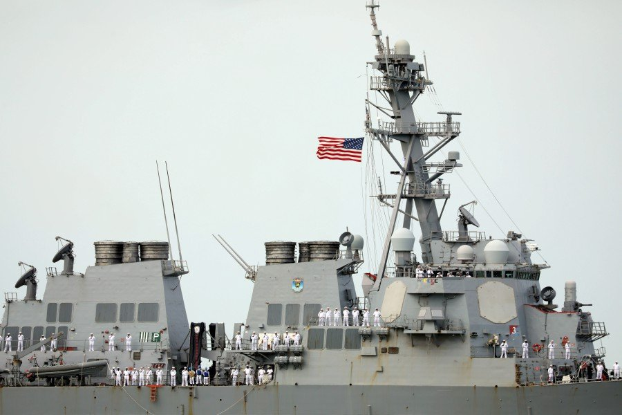 Warships and aircraft ready for first US-Asean maritime