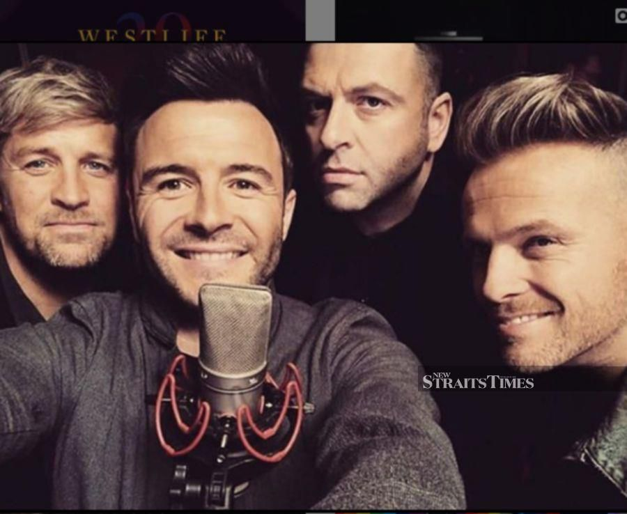 Showbiz: Westlife to perform two-day concert in Malaysia in