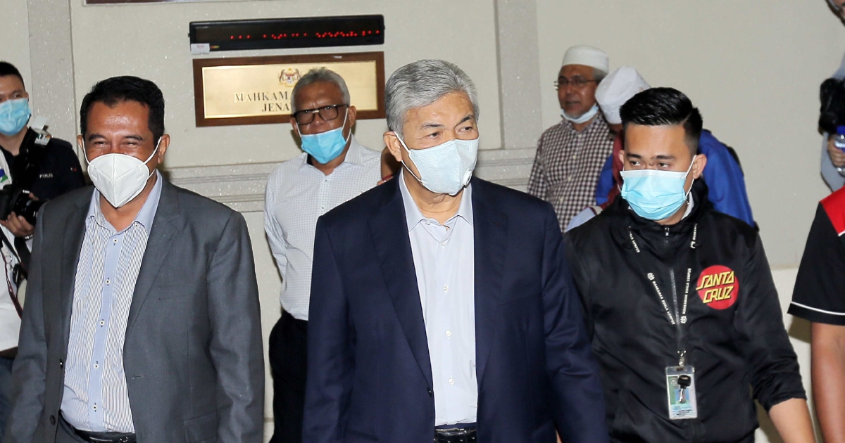 Over RM1mil issued to law firm implicated in Zahid's graft case
