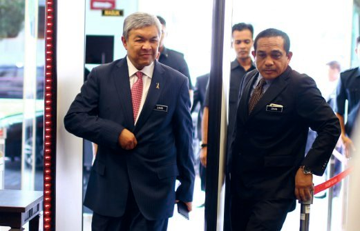 A total of 54,406 Malaysians have renounced their citizenship from 2010 until Jan 31 this year, Home Minister Datuk Seri Dr Ahmad Zahid Hamidi said. Pix by Mohammad Shahril Badri Saali