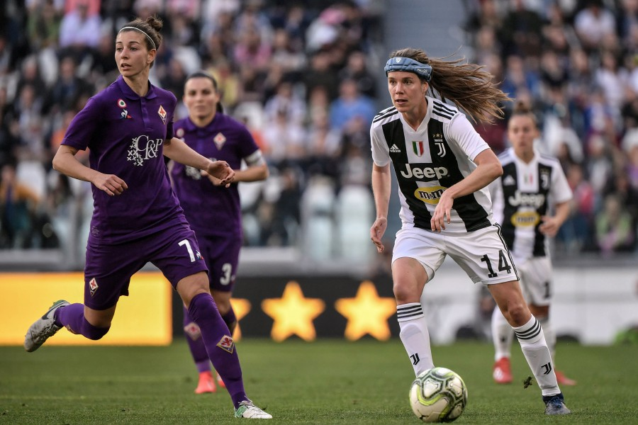 Juventus Women Draw Record Crowd In Allianz Stadium Debut New