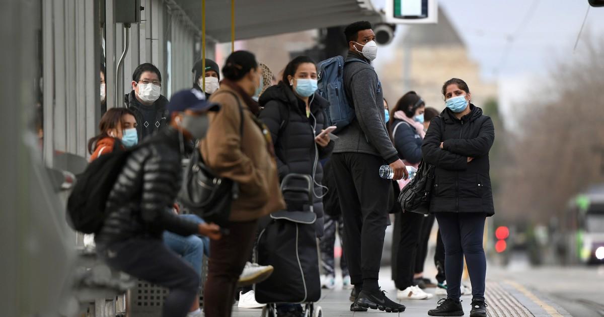Melbourne Mandates Mask Wearing As Covid Cases Soar