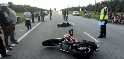Man Dies After Ducati Bike Collides With Car In Jertih New Straits