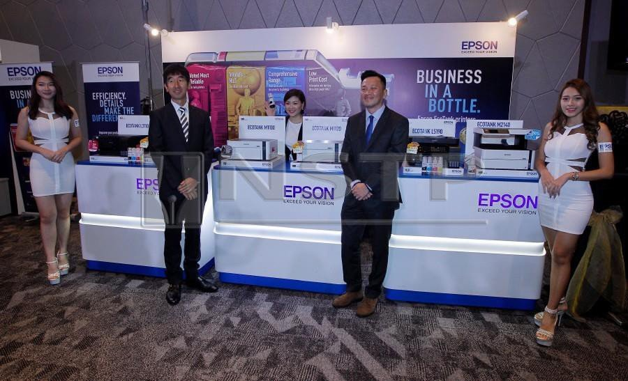 Epson launches new EcoTank printers | New Straits Times