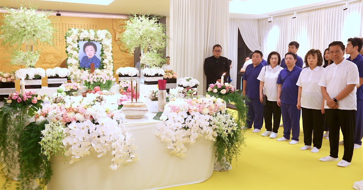 Genting Group Matriarch Continued Family S Philanthropic Activities