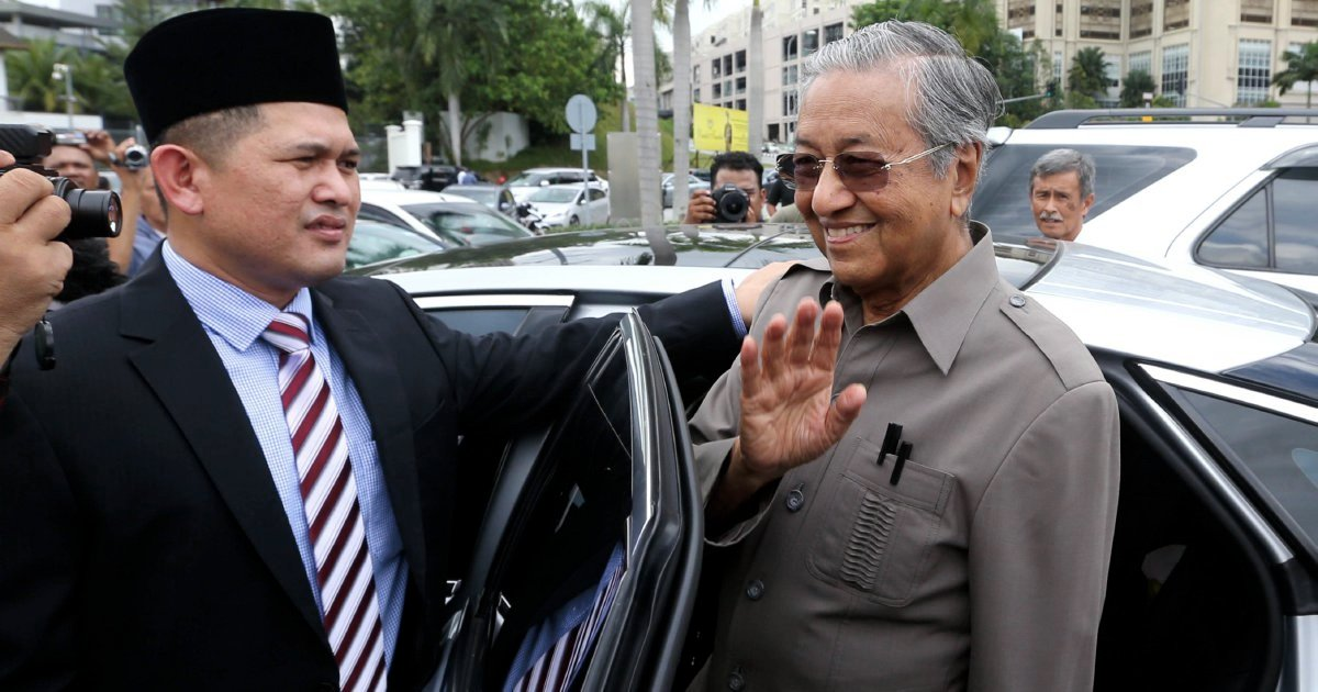 Dr M finally makes appearance at RCI on BNM forex scandal