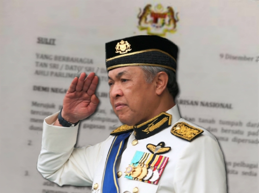 Image result for hoax letter najib zahid