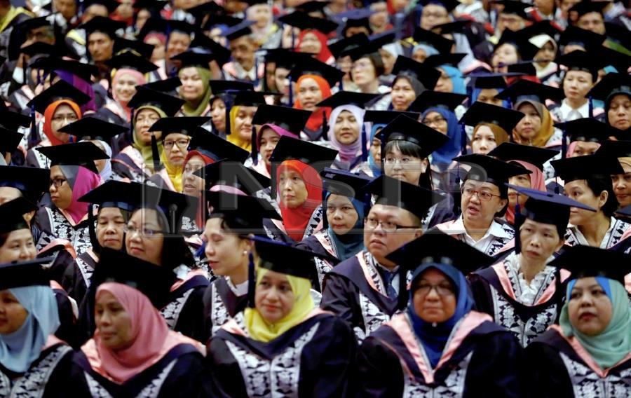 (file pix) The Education Ministry today announced the setting up of a University Consortium on Blockchain Technology and launched the e-Scroll system – a university degree issuance and verification system based on blockchain technology. NSTP/RAMDZAN MASIAM