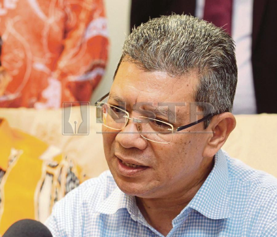 Foreign Minister Datuk Saifuddin Abdullah said the government wants to instead focus on two simpler conventions, namely the Protection of All Persons from Enforced Disappearance (ICPPED) and United Nations Convention against Torture. NSTP/ MUHD ASYRAF SAWAL